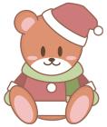クリスマスのクマサンタ3