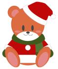 クリスマスのクマサンタ5