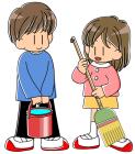 学校生活掃除