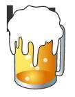ビール1線太目