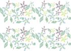 パターン壁紙お花