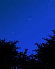 背景夜の空