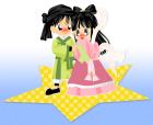 七夕の織姫と彦星2