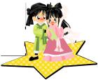 七夕の織姫と彦星1