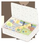 ソーイングカットカラー裁縫箱3