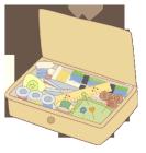 ソーイングカットカラー裁縫箱2