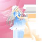 妖精と星カット線なし赤系