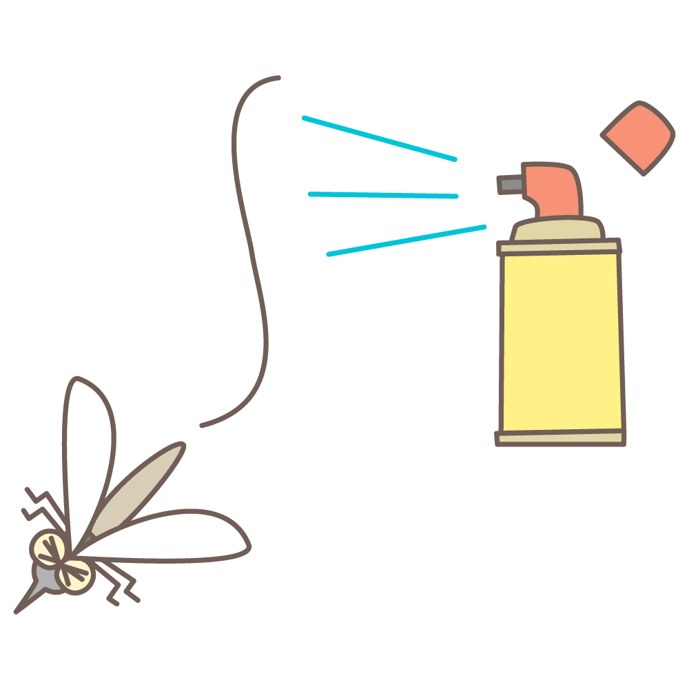 前へ 次へ 出典 蚊&殺虫剤 webイラスト素材