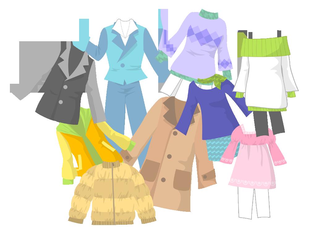 「イラスト 無料 洋服」の画像検索結果