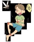 虫刺され・かゆい・蚊