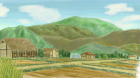 村の風景手描き手塗りアナログ風2