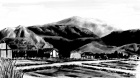 村の風景手描き手塗りアナログ風7