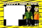 2010年寅年賀状まさき様テンプレート3