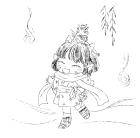 寒中お見舞い用イラストパーツ3