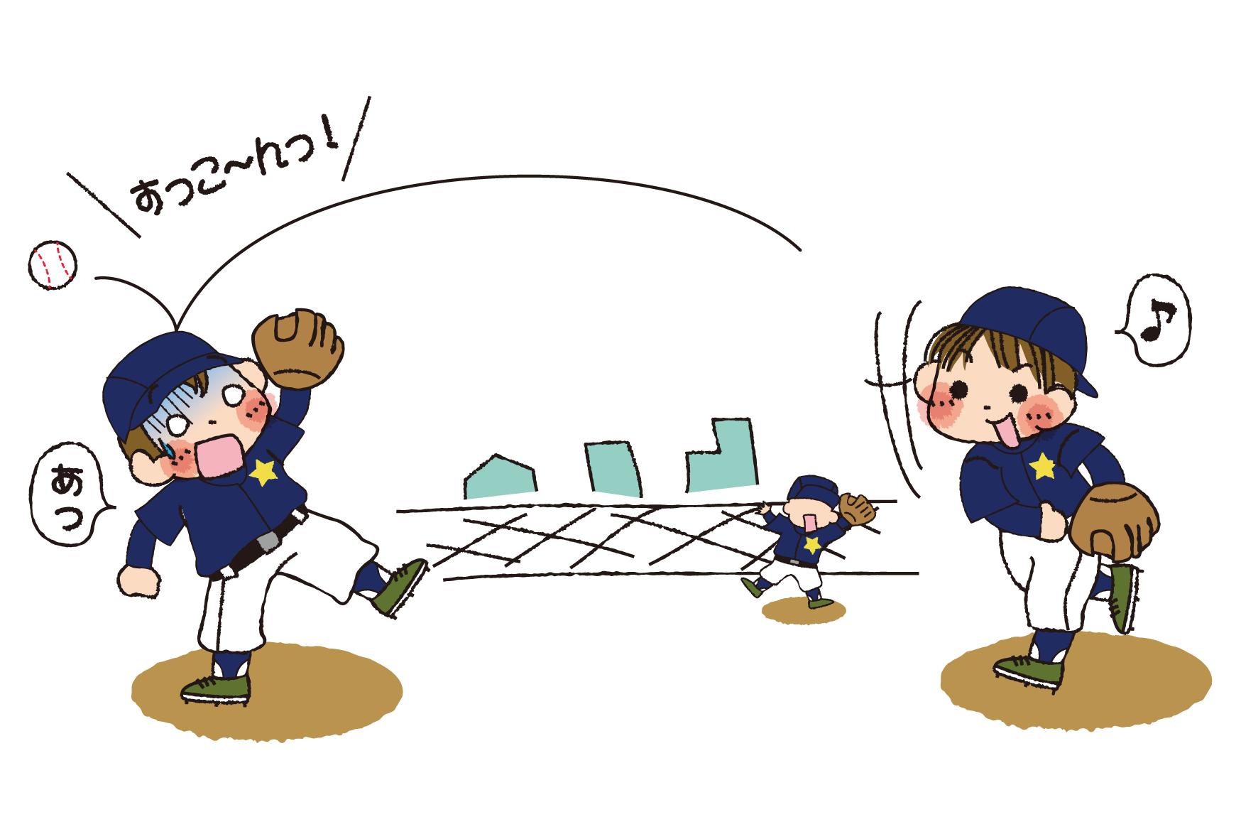 野球関係印刷向け | 夢夢色TOWN : 年賀状 羊 テンプレート : 年賀状