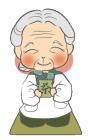 キャラクターおばあちゃん1