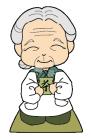 キャラクターおばあちゃん2