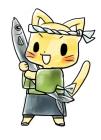 食欲の秋とサンマ3猫と秋刀魚
