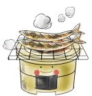 食欲の秋とサンマ4炭火焼秋刀魚