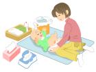 子育て・コミュニケーション・オムツ替え1