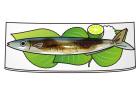 焼き秋刀魚