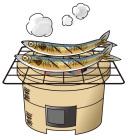 秋刀魚の炭火焼き3