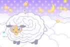 羊・未・2015年・年賀状・テンプレート・迷路3