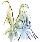 猿・申・2016年・年賀状・イラスト・和1