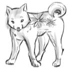 犬・戌・2018年・年賀状・イラスト・和2