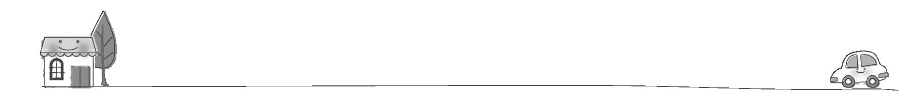 白黒ライン印刷向け | 夢夢色TOWN