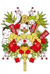 正月飾り_熊手