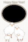 2014未年年賀状素材_メリヤス羊