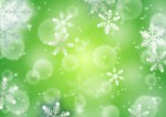 背景素材_雪の結晶