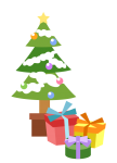 クリスマス2014_クリスマスツリーとプレゼント