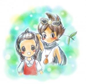 ケンゾーとユキッペ