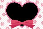 バレンタインフレーム